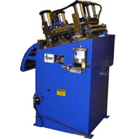 Series B Coil Straighteners feature: Single Bank Adjustment. Standard 7 rolls. Optional 9,11 or more rolls.