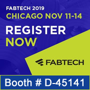 Please Join us at Fabtech 2019!